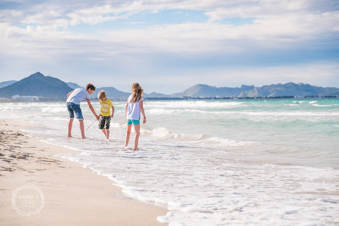 Lifestyle Family Beach session on Mallorca