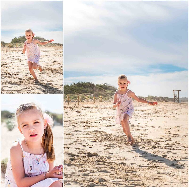 Lifestyle Family Beach session on Majorca